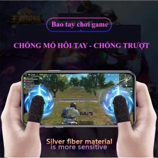 [MẪU MỚI] Bộ bao 2 ngón tay chuyên dụng chơi game mobile chống ra mồ hôi tay, chất liệu sợi carbon thoáng mát, cảm ứng cực nhạy, độ co giãn cao thumbnail