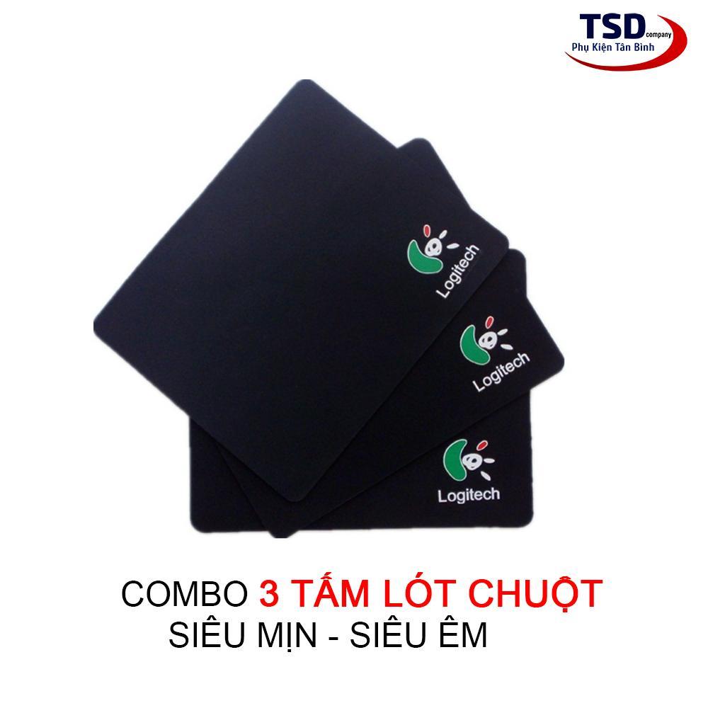 Combo 3 Miếng Lót Chuột Logitech