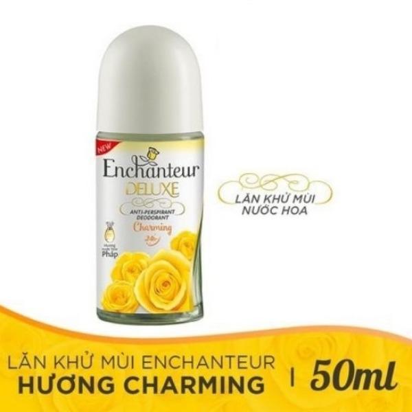 (HSD 2023) Lăn khử mùi hương nước hoa Enchanteur Charming cao cấp
