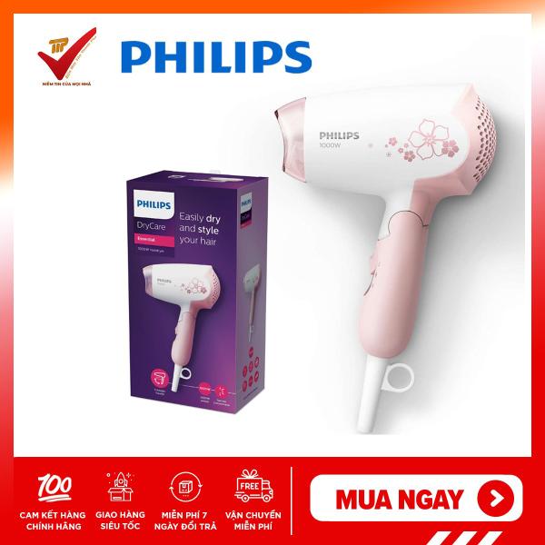 Máy sấy tóc mini cao cấp Philips HP8108 (Hồng) BH 24 tháng chính hãng