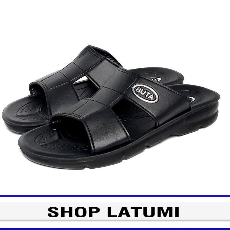 Dép da nam quai ngang thời trang cao cấp Latumi TA2411 giá rẻ