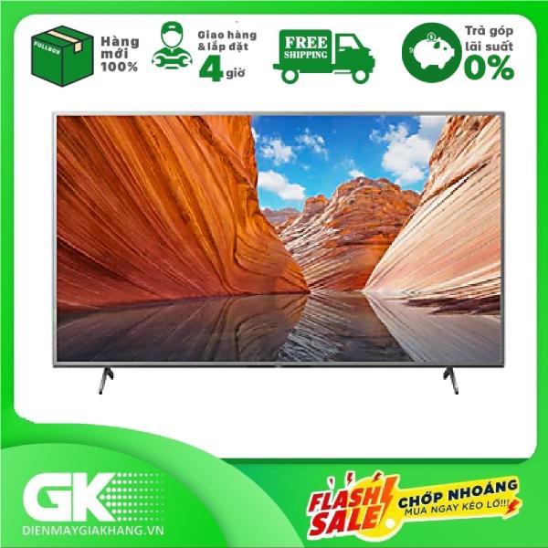 Bảng giá [GIAO HÀNG 2 - 15 NGÀY, TRỄ NHẤT 30.09] [Trả góp 0%]Android Tivi Sony 4K 55 inch KD-55X80J