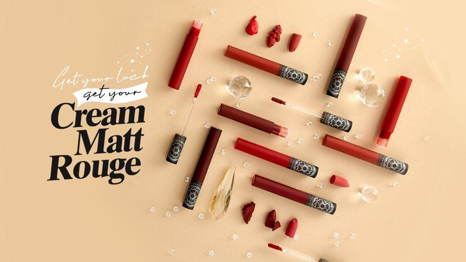 (HOT NEW) Son Kem Lì BLACK ROUGE CREAM MATT ROUGE - CM07 tốt nhất