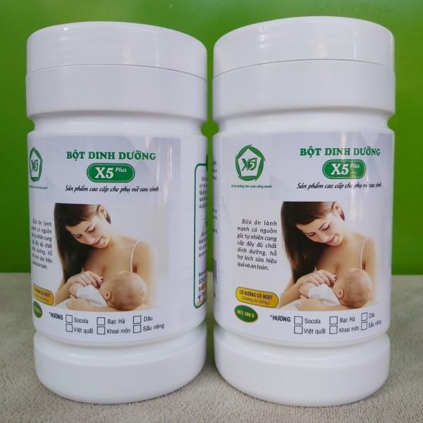 HSD09/21] 500gr Bột dinh dưỡng lợi sữa X5 trên 25 thành phần giúp mẹ khỏe, con ngoan cao cấp