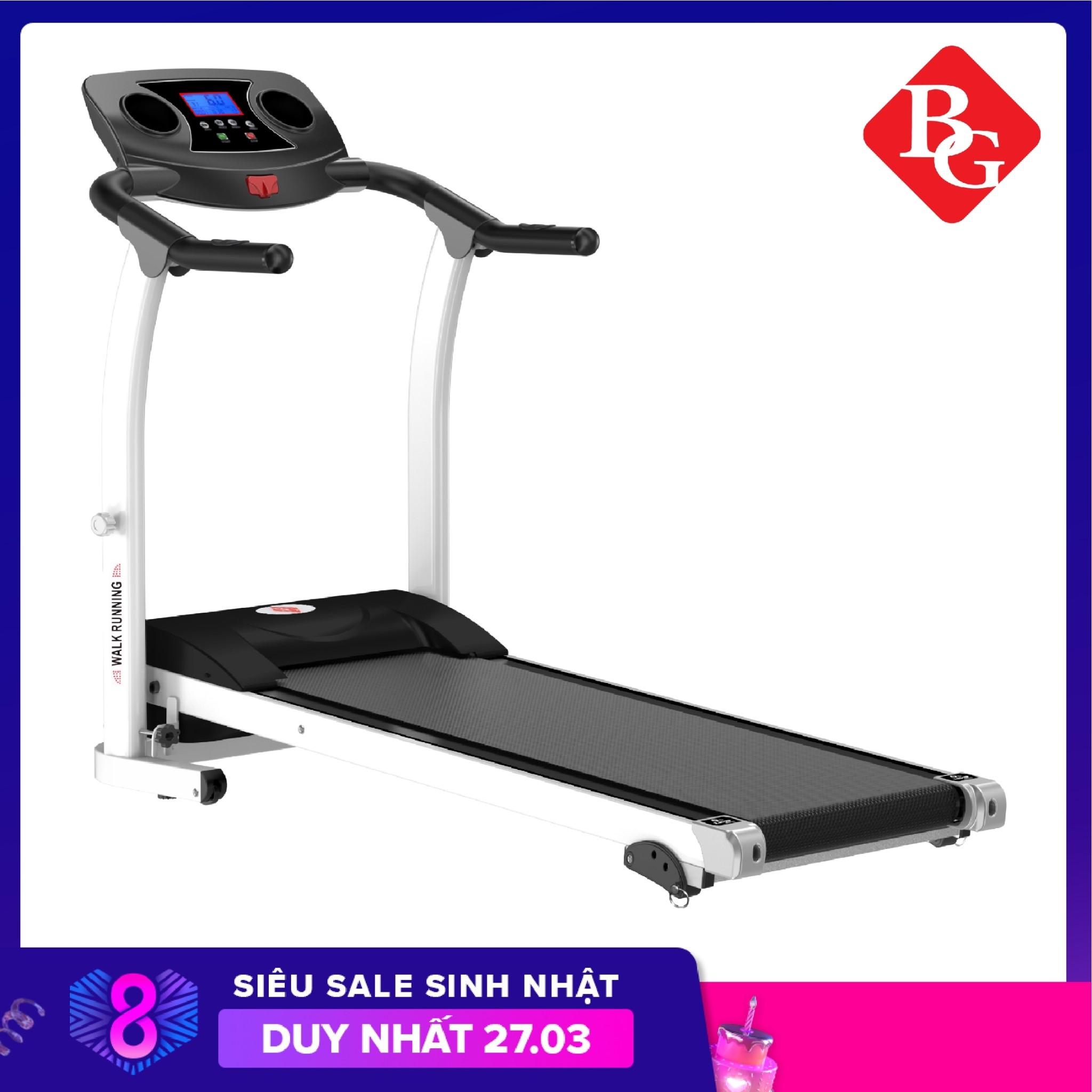 ( Có video) BG -TẾT ĐẾN XUÂN SANG LỘC ĐẦY NHÀ - Máy chạy bộ đơn năng mẫu mới Treadmill M2 Công xuất đạt 2.0HP