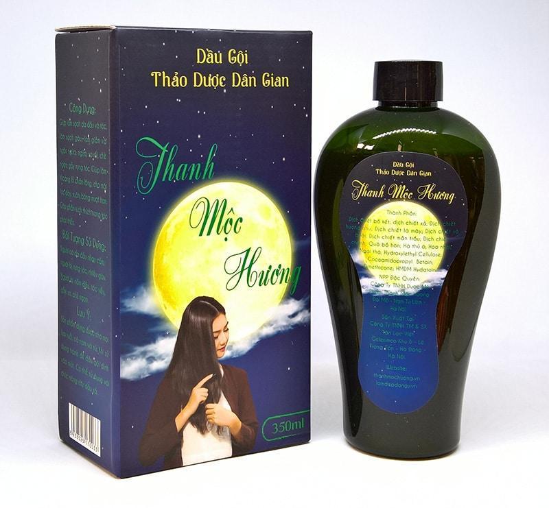 Dầu gội Thanh Mộc Hương trị nấm gàu và ngăn rụng tóc từ thảo mộc thiên nhiên giá rẻ