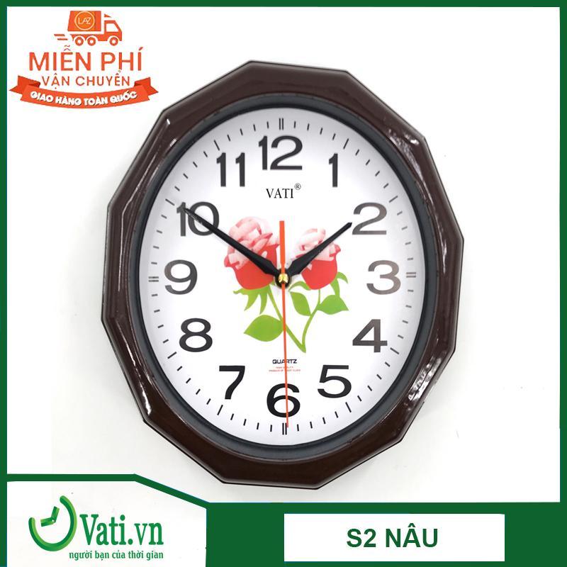 Đồng hồ treo tường đa giác S2 bán chạy