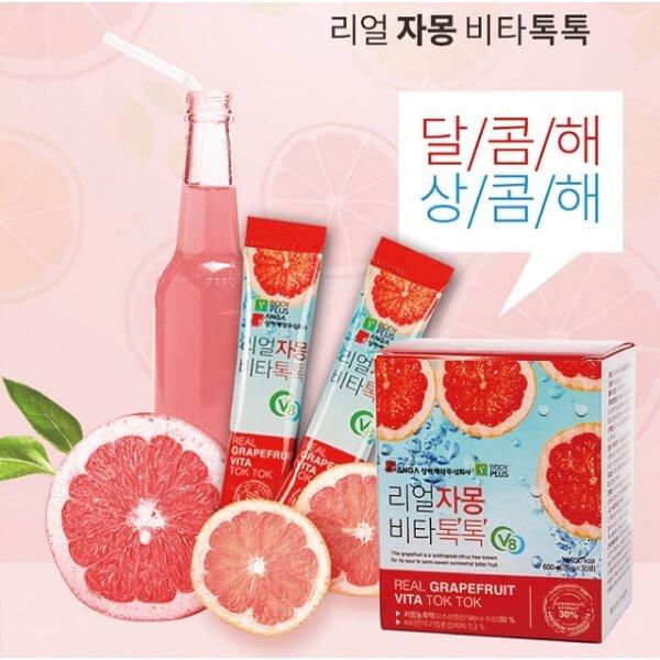 Nước ép bưởi giảm cân đẹp da SangA Hàn Quốc