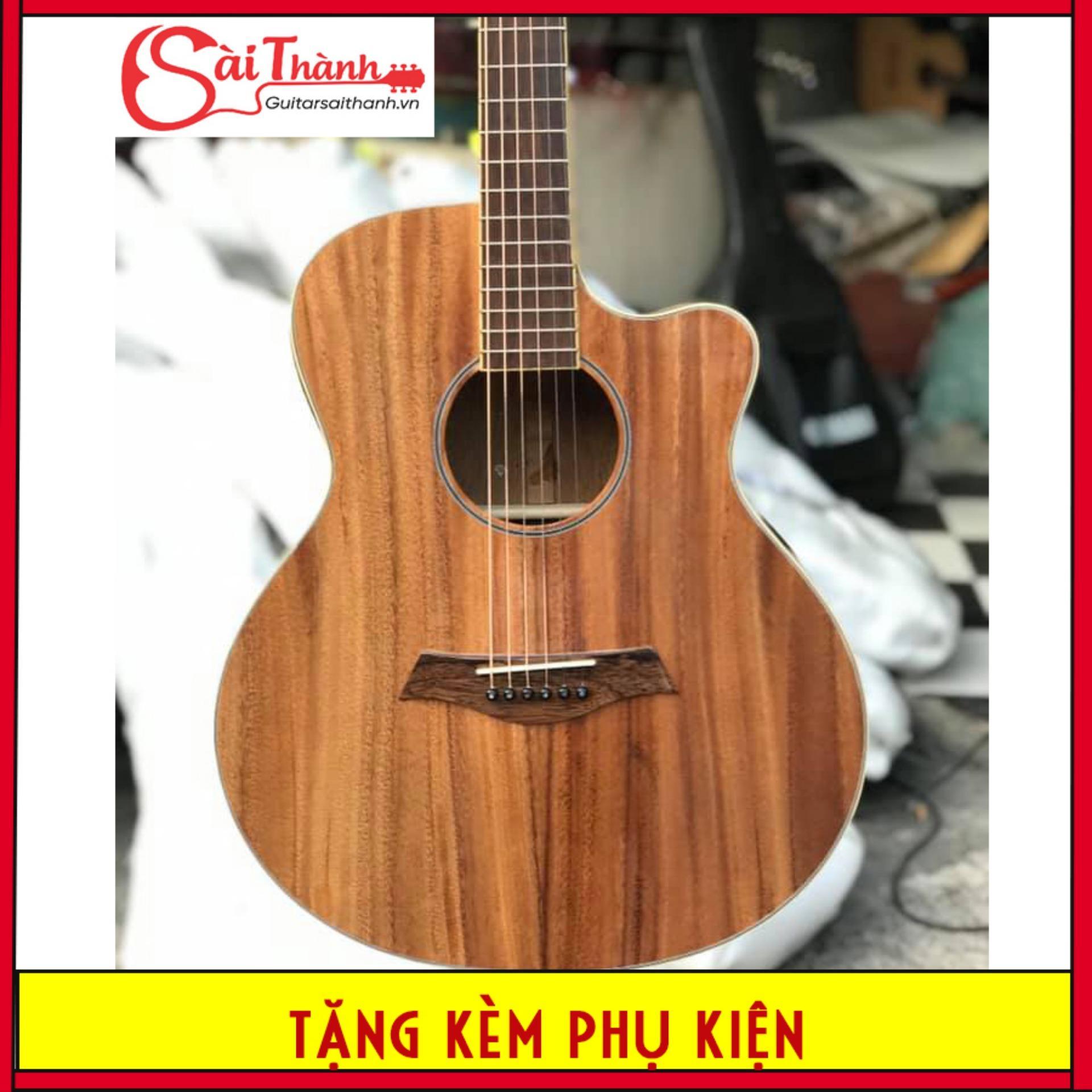 Đàn guitar acoustic FULL gỗ điệp kĩ