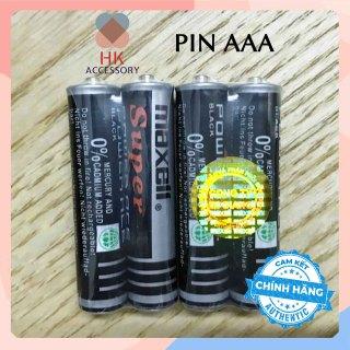 Combo 02 Pin AAA MAXELL Super Đen Hàng chính hãng thumbnail