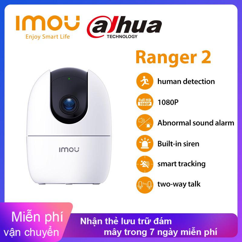 Camera IP Dahua Imou Ranger 2 1080P Không Dây Giám Sát An Ninh Camera 360 Wifi Phát Hiện Con Người Theo Dõi Trẻ Em Tầm Nhìn Ban Đêm Dành Cho Gia Đình