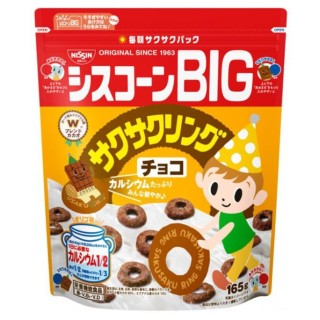 Ngũ Cốc Ăn Liền Nissin Vị Chocolate, Hình Tròn Bánh Xe 165g Nhật Bản thumbnail