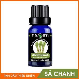 Tinh dầu Sả Chanh AROMA nhập khẩu Pháp 100% nguyên chất từ thiên nhiên Có kiểm định COA Thanh lọc không khí, thư giãn đuổi muỗi sát trùng chăm sóc da, tóc ngăn ngừa cảm cúm thumbnail