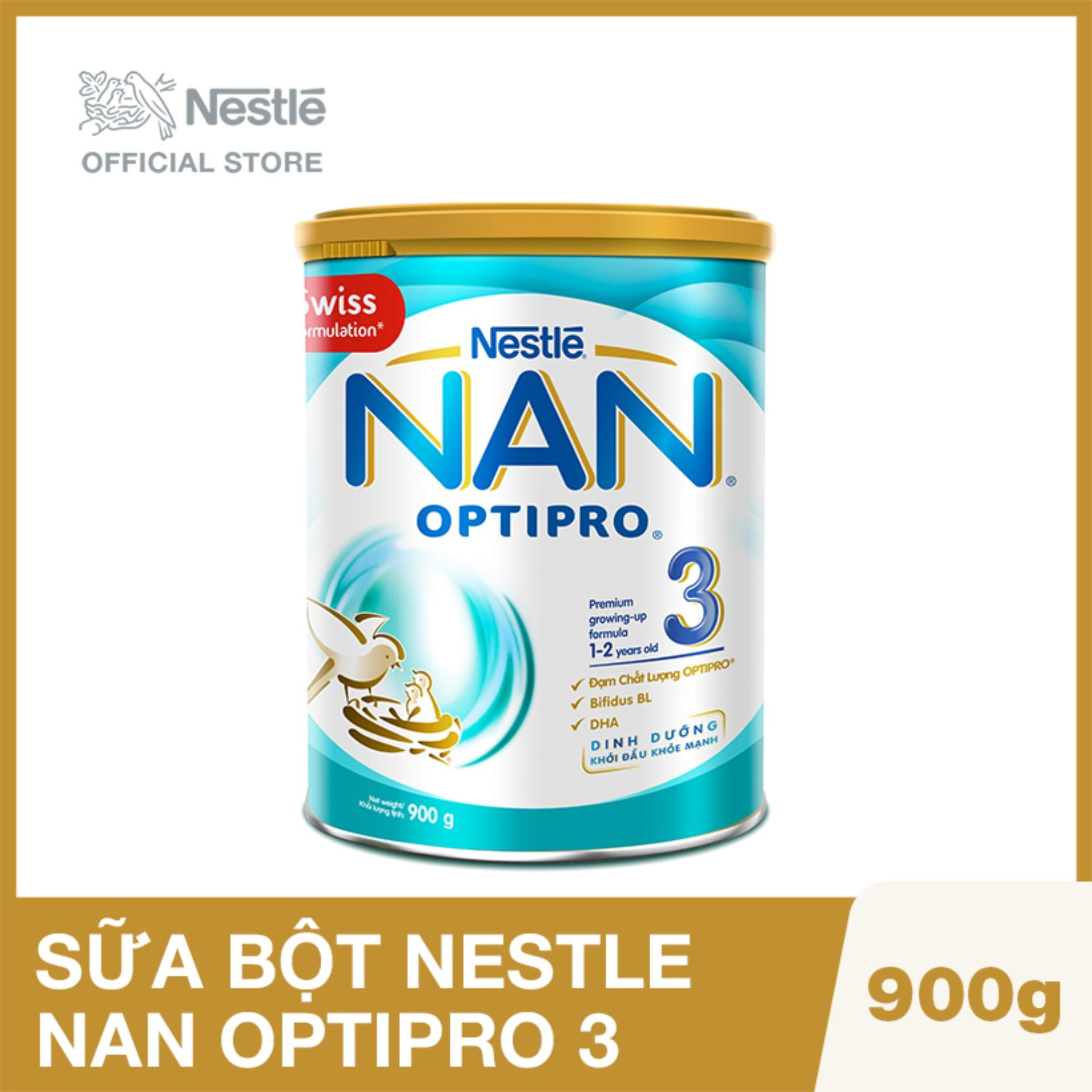 Sữa bột Nestle NAN OPTIPRO 3 (900g)