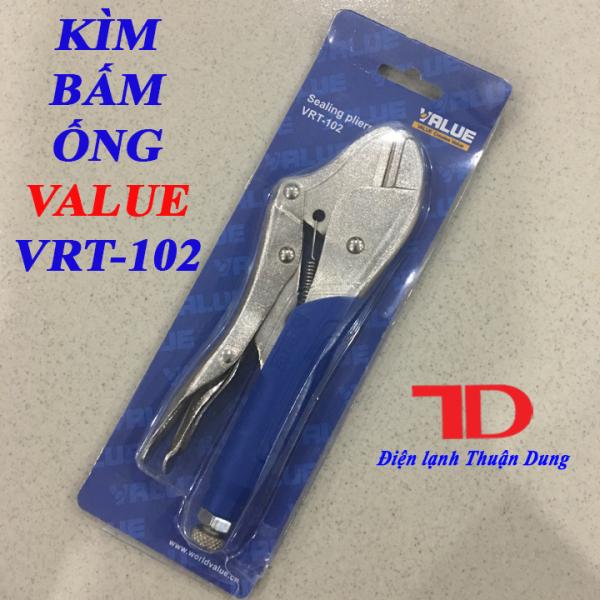 Kìm bấm ống VALUE VRT 102