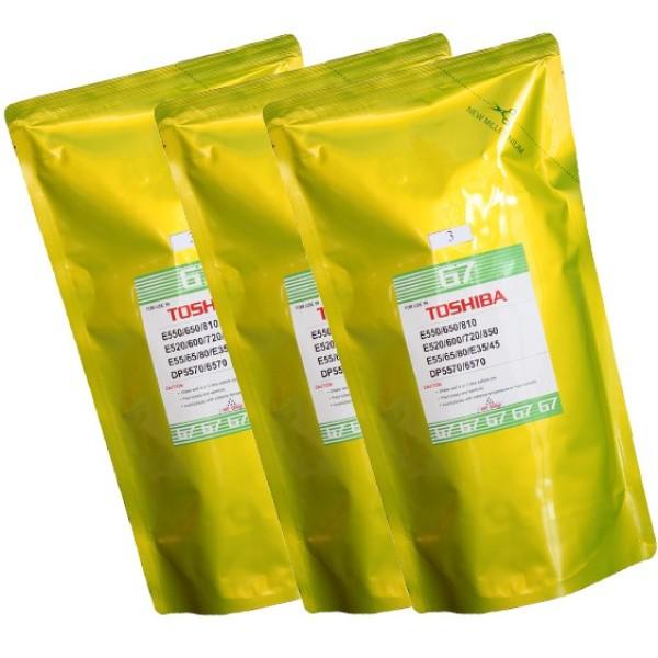 Mực túi photo mực túi G7 1kg dùng cho các dòng máy toshiba, Ricoh