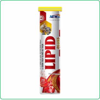 Viên Sủi Giảm Mỡ Máu Lipid Pluss-Hỗ Trợ Giảm Mỡ Máu, Xơ Vữa Động Mạch, Giảm Tích Tụ Mỡ Thừa thumbnail