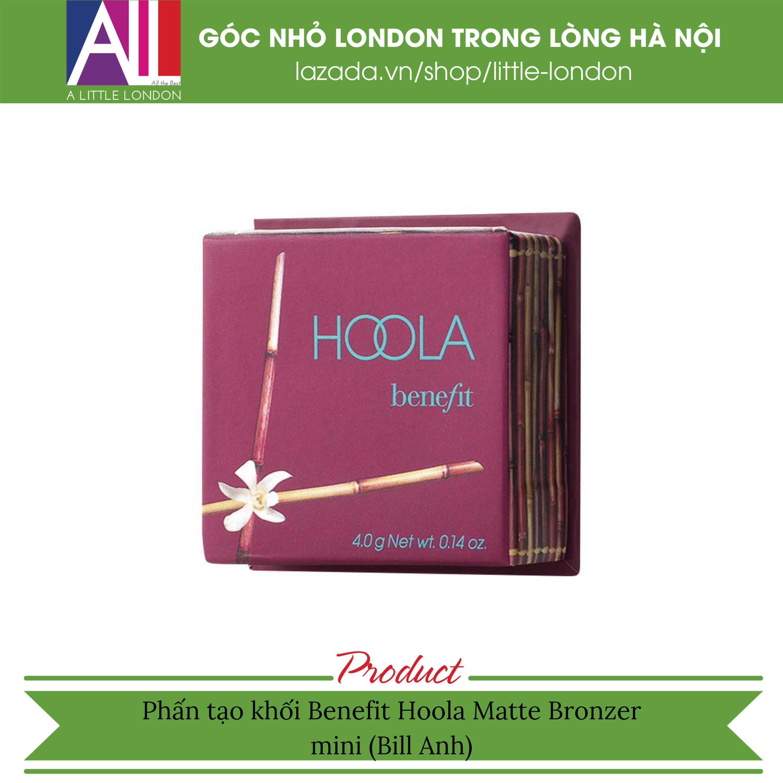 Phấn tạo khối Benefit Hoola Matte Bronzer mini (Bill Anh) tốt nhất