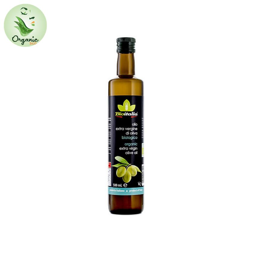 Dầu oliu siêu nguyên chất hữu cơ 250ml Bioitalia organic Extra Virgin Olive Oil 250ml