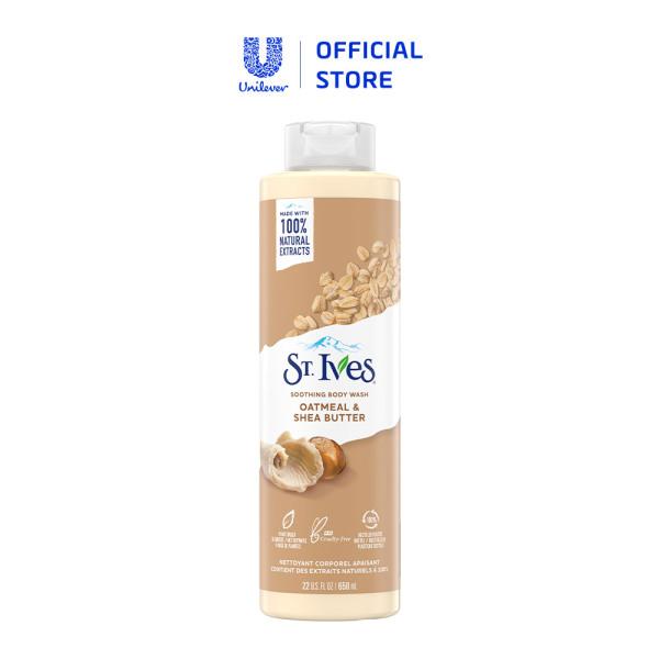 Sữa tắm dưỡng da St.Ives Muối biển/ Yến mạch và Bơ/ Cam chanh 650ml