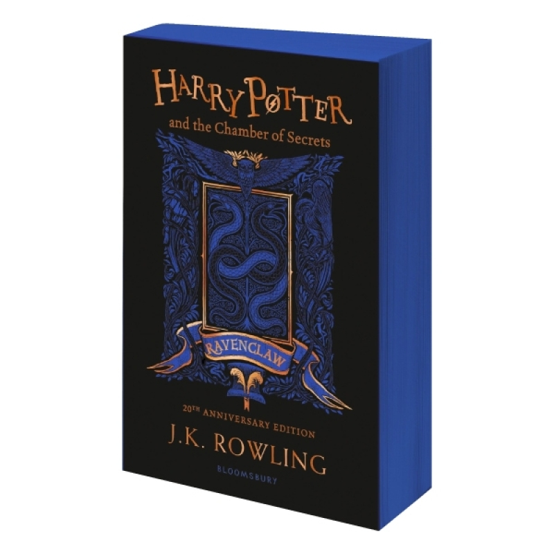 Fahasa - Harry Potter And The Chamber Of Secrets – Ravenclaw Edition (Paperback) + Quà Tặng
