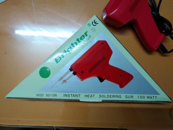 Mỏ Hàn Xung SG106 230V 100W Tặng 01 cuộn thiếc + nhựa thông + 01 mũi hàn