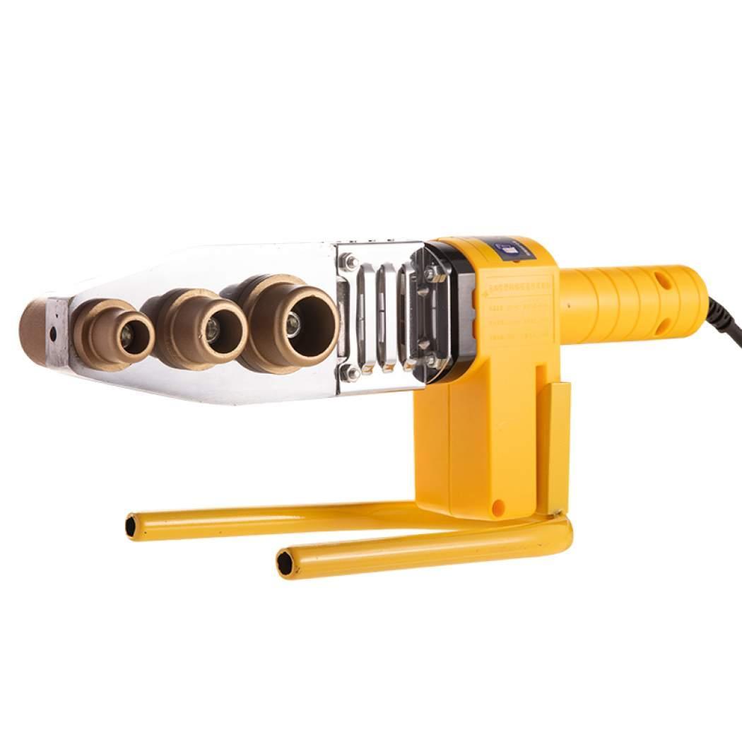 Máy hàn ống nhựa chịu nhiệt PP-R, PE, PPC 800W, 600W, tản nhiệt mang cá AC 220V Tự động chỉnh nhiệt [PW][DCD]