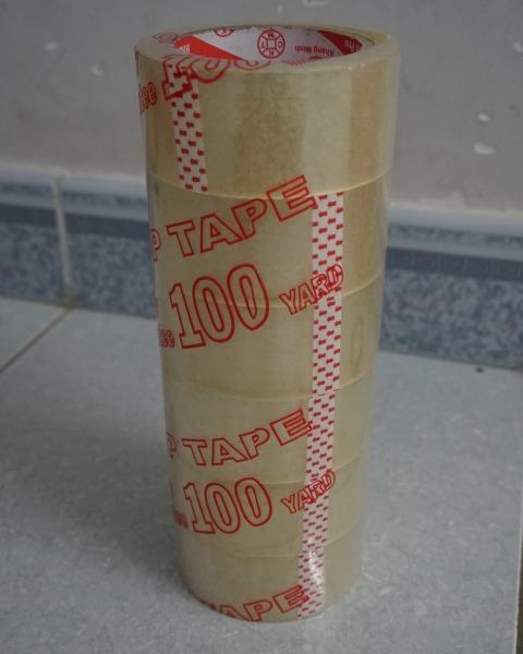 Mua Combo 6 Cuộn Băng Keo Trong/Đục 4F8 - 100Ya - 1KG