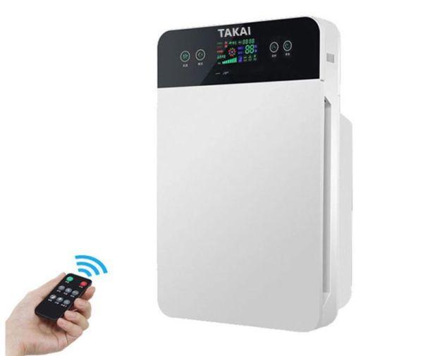 Máy lọc không khí thương hiệu TAKAI Nhật Bản - Màng lọc 5 lớp lọc bụi mịn 2.5 pm, tạo anon có lợi thanh lọc không khí-Air purifier with UV light & Hepa Filtration- Bảo hành 1 năm/1 year warranty