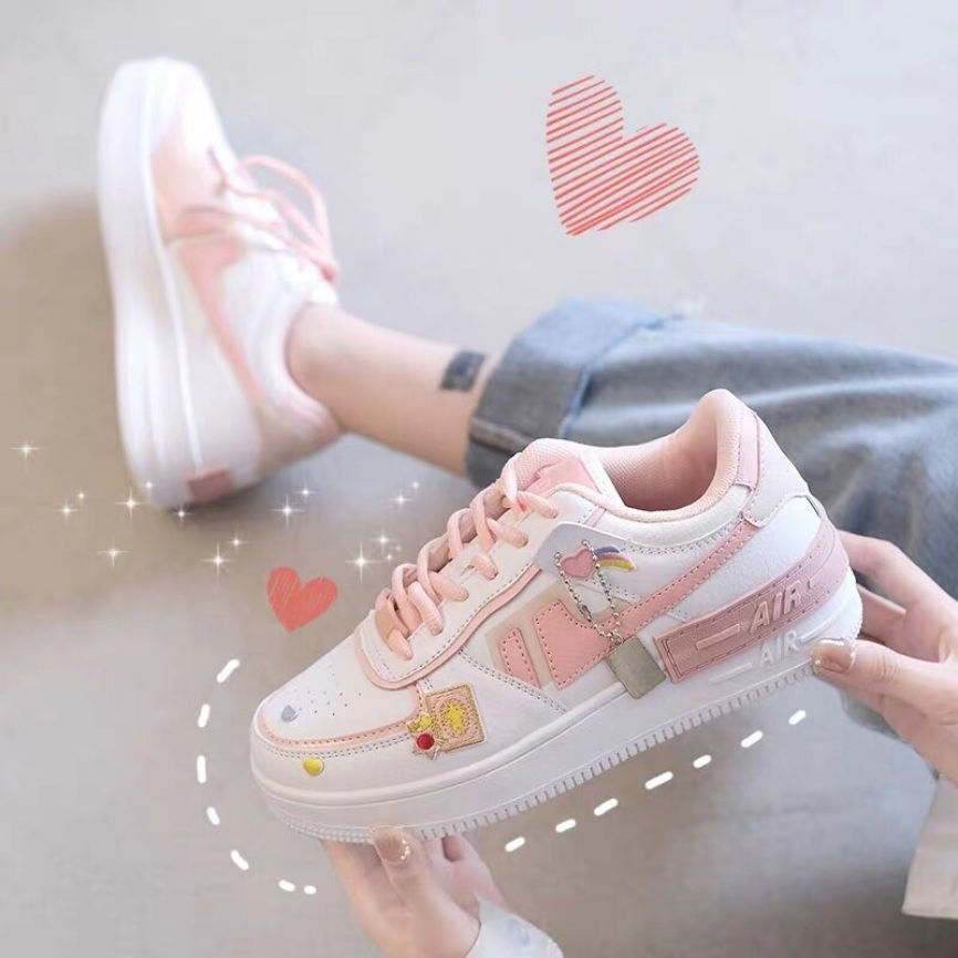 Giày thể thao nữ airrr kèm tag, giày sneaker nữ hot 2020 giá rẻ