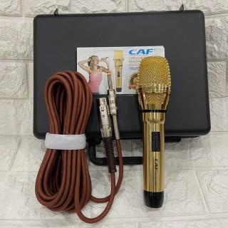Mua ngay Dàn, LoaMicro CAF CA-P12 với phiên bản cải tiến và nâng cấp, củ mic chất lượng, thiết kế dành riêng để hát karaoke gia đình, Mua ngay Micro Karaoke , Micro Có Dây CAF P12 PRO Chống Hú Tốt, Micro Hát Karaoke Có Dây Âm Thanh Hay thumbnail