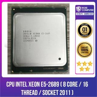 CPU IN XEON E5-2689 ( 8 Core 16 Thread Socket 2011 ) thumbnail