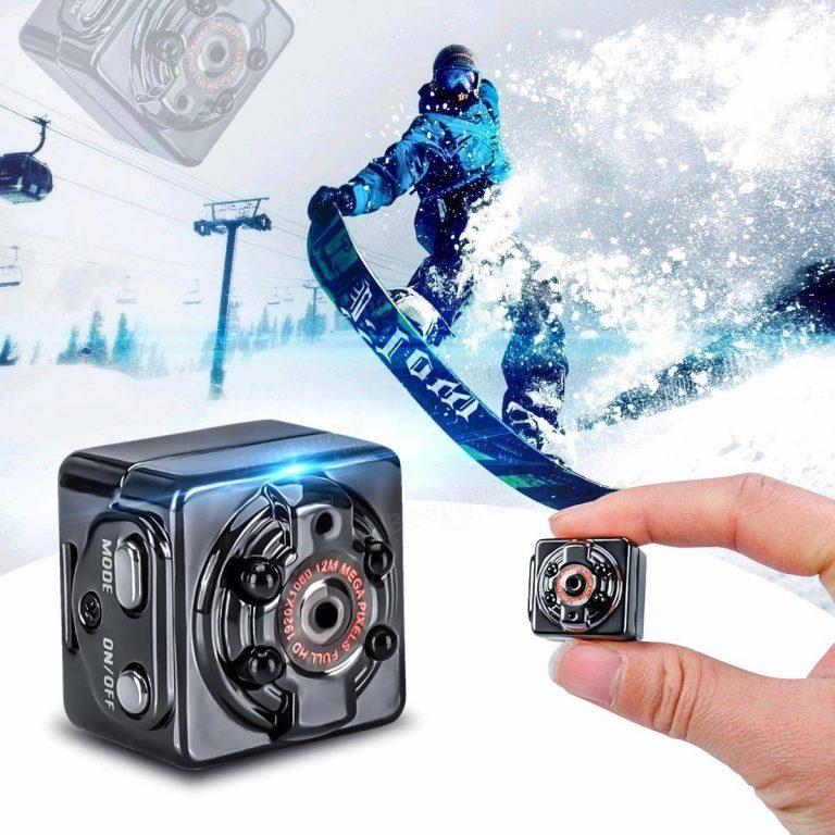 ( BH 12 THÁNG ) Camera Mini Siêu Nhỏ SQ8 Hình Ảnh Rõ Nét Quay Cả Ban Ngày Và Ban Đêm - Camera Giám Sát, Camera Mini SQ8 Mini Chỉ Bằng 1 Đồng Xu, Thiết Bị Định Vị HD1080P Cực Nhỏ, Siêu Kín Đáo, Phòng Chống Trộm Cắp, Giá Rẻ