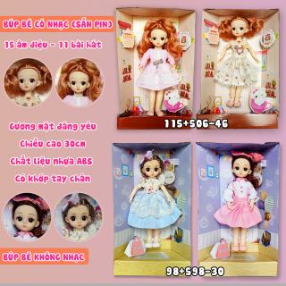 Búp Bê BaBy Doll Thông Minh Biết Hát ,Phát Nhạc Có Khớp thumbnail