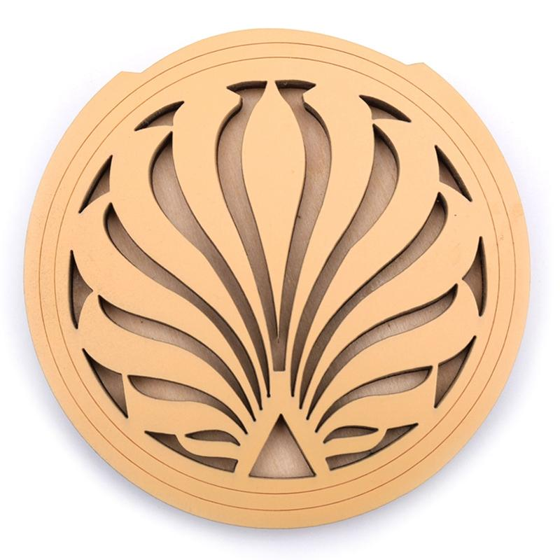 Acoustic Wooden Guitar Feedback Buster Sound Hole Cover Sound Buffer Hole Protector Halt Mute for Eq Acoustic Folk Guitars