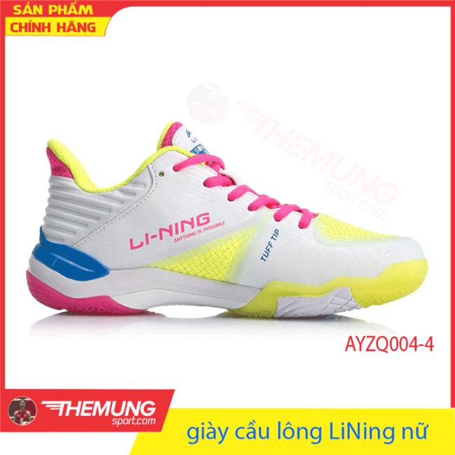 giày cầu lông LiNing nữ AYZQ004-4 giá rẻ