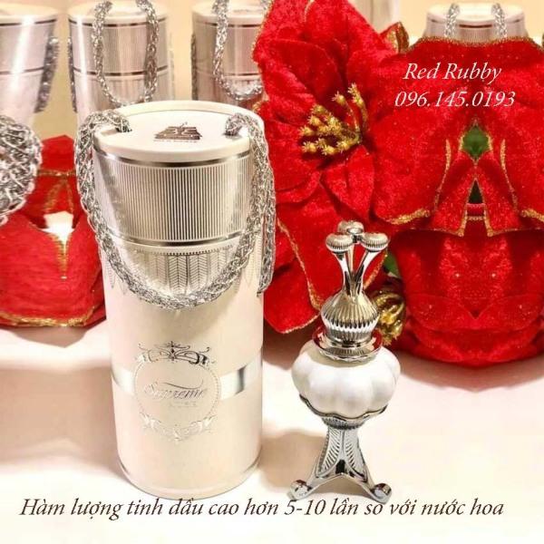 Tinh dầu nước hoa dubai nội địa SUPREME - chai 20ml ( chai nhỏ dùng thử 4ml)  - Red Rubby nhập khẩu