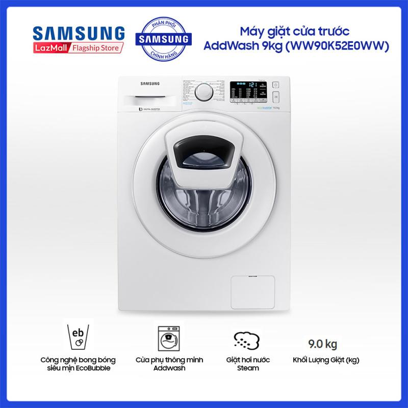 Bảng giá Máy giặt cửa trước Samsung AddWash 9kg - WW90K52E0WW Điện máy Pico