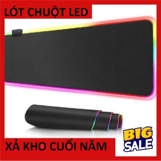 [ SIÊU HOT 2020 ] Tấm lót chuột chơi game có đèn LED RGB Siêu đẹp - lót chuột độc đáo dẫn đầu su thế bandichuot lotchuotmiếng lót chuột bàn di chuột lót chuột lót chuột led thumbnail