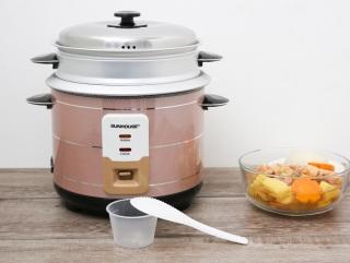 Nồi cơm điện Sunhouse 1.8 lít SHD8125 chính hãng- hàng trưng bày,Nấu cơm công nghệ nấu 1D, cơm nhanh chín trong khoảng 20 - 25 phút, giữ ấm được 4 tiếng. Đáp ứng nhu cầu nấu cơm hằng ngày của gia đình 4 - 6 thành viên thumbnail