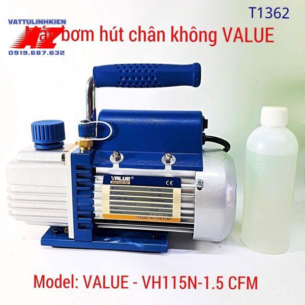 Máy hút chân không VALUE công suất 1.5 CFM Model VH115N