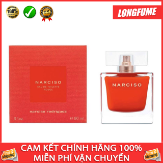 [FREESHIP+SALES] Nước hoa nữ Narciso Rodriguez Rouge EDT 90ml - Longfume Nước hoa Châu Âu chính hiệu Sỉ Lẻ Quận 10 TPHCM thumbnail
