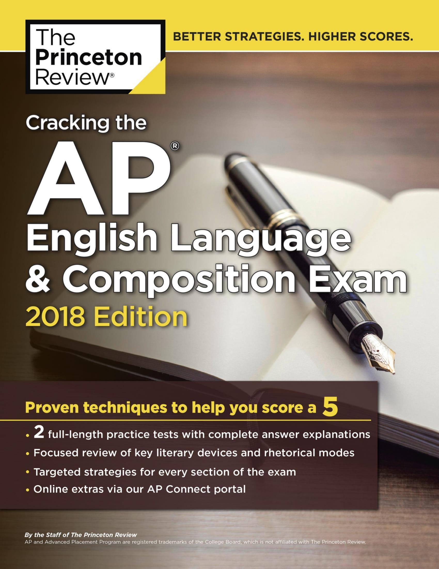 Mua Cracking the AP English Language & Composition Exam, 2018 Edition