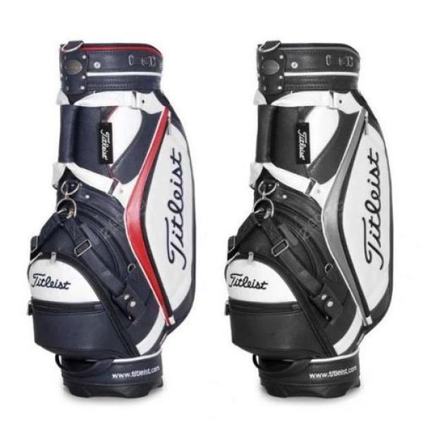 Túi đựng gậy golf Titleist Da Sần ĐẸP SANG mẫu mới 2 màu