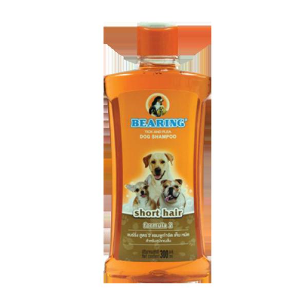 Sữa tắm Bearing trị ve bọ chét cho chó Lông Ngắn 300ml