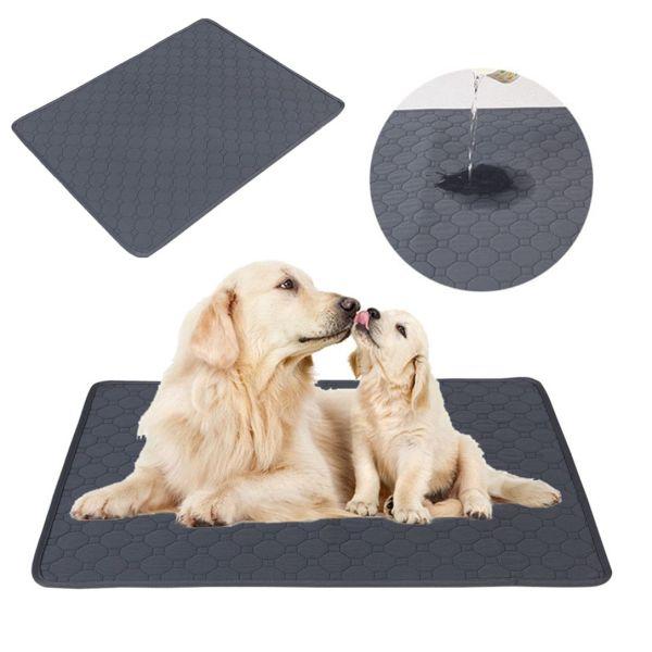 HUXIAN0 Chất liệu dày hơn Chống trượt Bô chó Có thể tái sử dụng Không thấm nước Dành cho chó nhỏ, trung bình, lớn Đồ cho chó Pad huấn luyện chó Tấm lót cho thú cưng Mat thấm