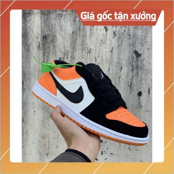 ❤️ SIÊU HOT HIT❤️ Giày thể thao sneaker Jordan cam cổ thấp full box Cho Nam Nữ giá rẻ