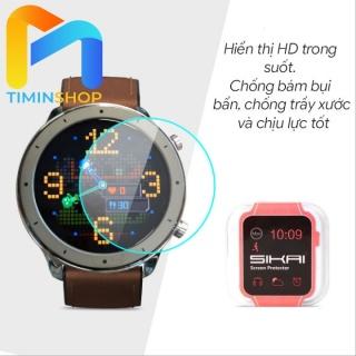 [HCM]Cường lực Xiaomi Amazfit GTR 42 47 mm - chính hãng SIKAI thumbnail