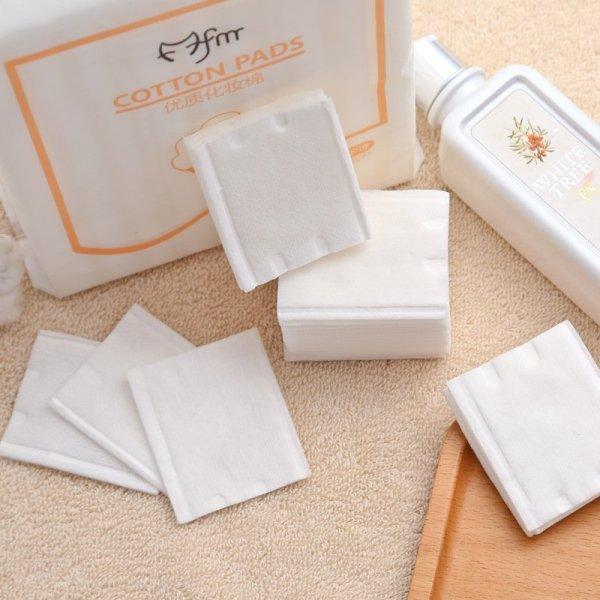 Gói 222 miếng bông tẩy trang 100% cotton mềm mại, chất lượng cao cấp cao cấp