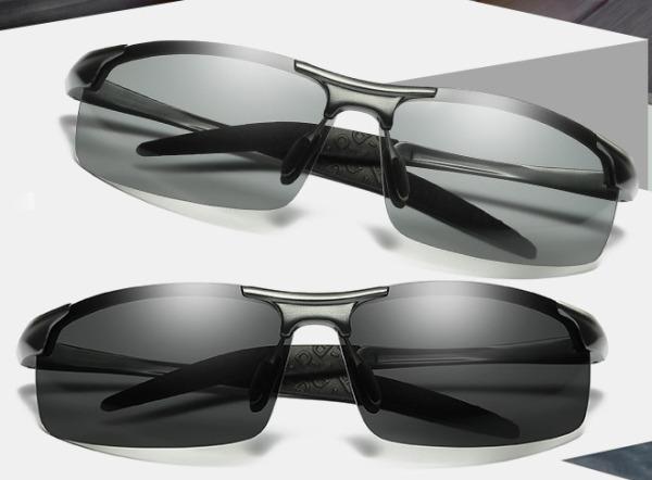 Mua Kính đổi màu, kính râm, kính mát nam, mắt kính polarized phân cực - Chống TIA UV, Kính đi ngày và đêm